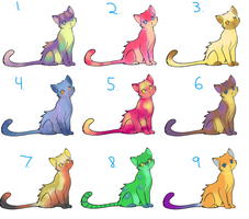 Free Kitty Adopts CLOSED by RubyAdopts