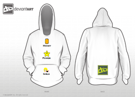MONEY POWER GIRLS hoodie design by Highstar16
