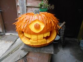 Halloween Pumpkin by Felina-Luciana