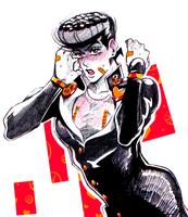 Sketchbook Josuke by Josukespimphand