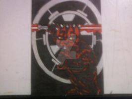 DARTH MAUL by shawncomicart