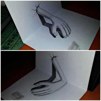REAL 3D HAND by SudiLin