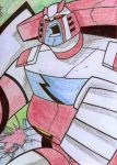 TFA Ratchet Sketchcard by TheBoo