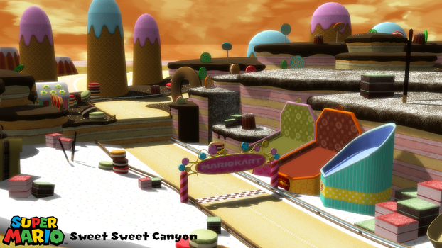 (MMD Stage) Sweet Sweet Canyon Download by SAB64