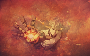 One Punch Man - Genos - Wallpaper by TravelsByTARDIS