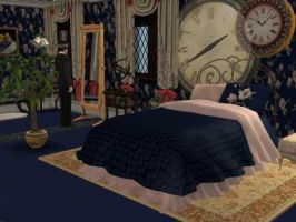 Sims 2 : Bedroom + Majordome by theBloodRaven