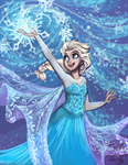 Elsa by sharkie19