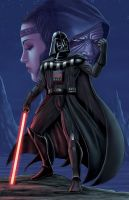 DARTH VADER COLORED by DAVID-OCAMPO