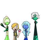 We are the crystal gem au by beccaboo13