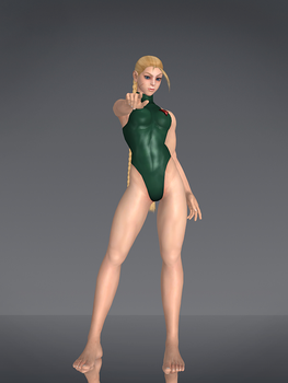 Cammy (Escape from Shadaloo) Cinematic Style by deexie
