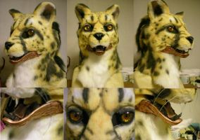 Glassjaw steampunk king cheetah by xiamara13
