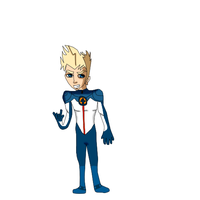 fantastic 4 johnny storm first draw by Lovehalo