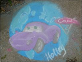 Holley Shiftwell in Chalk by chameron