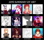 2015 Art Summary by neruteru