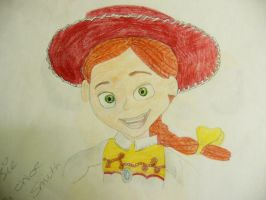 Jessie Drawing by chloesmith8