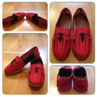 Spider-Man Shoes by Icepearl14