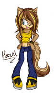 Hazel the Wolf by Kellkie