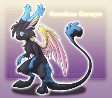 :Gift: Nameless Caragoo by MoonyWings