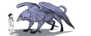 Hippogriff by larkinheather
