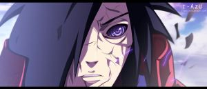 uchiha madara by i-azu
