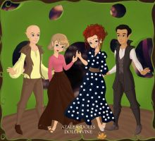 I Love Lucy Cast. by Katharine-Elizabeth