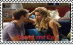 Daniel and Eva stamp by mollymolata
