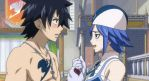Gray's gaze on Juvia by BlissfullyDisturbed