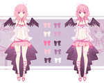 [CLOSED] - Adopt Auction | Silken Ribbons by Lyerin