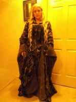 Eowyn Green Gown - Preview by Angel-or-Phantom