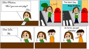 Beatles Comic:Prudence Replys by BlackRayquaza1