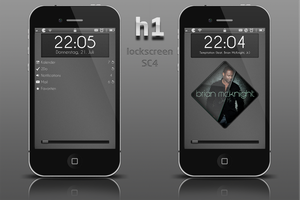 h1 Lockscreen and SC4 theme by henftling