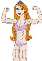 Holly O'Hair's muscle growth by Dorothy64116