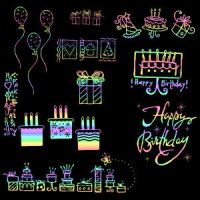 Birthdayz Birthday Brushes by mandy71480