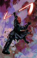 Darth Maul colors by JoeyVazquez