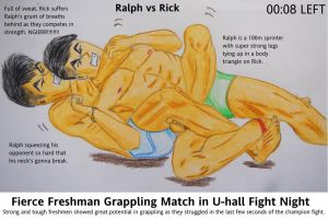 Rear Naked Choke Tight Tight Squeeze by canterpark