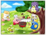 June - Kirby's Barbeque by IvynaJSpyder
