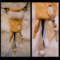 Medicine Bag - Owl - (SOLD) by Shamans-Yoik