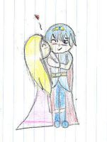 Marth and Zelda V-day by kongfucat