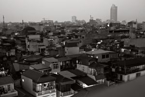 Hanoi Skyline by smokinjay