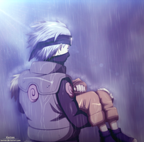Kakashi and Naruto by Kortrex