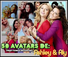 50 Avatars De Ashley y Aly by Sweet-Tizdale