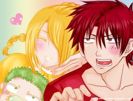 Beelzebub: Epic Family by ravenanne