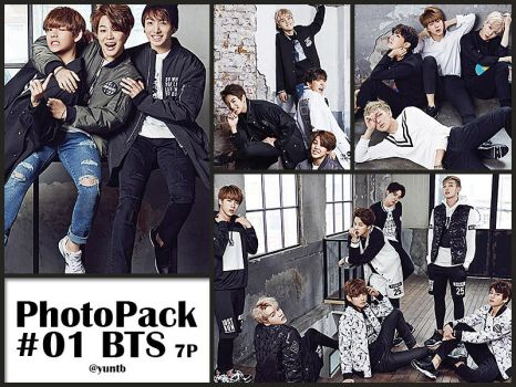 PHOTOPACK #01 BTS-7p by yuntb