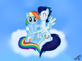 Just you and me,My little Dashie. by TwilightSparkle2000