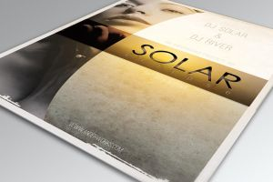 Solar Eclipse - .psd Flyer by isoarts2