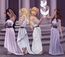 Women of Rome by Nehvah