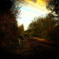 rails of sin.. by RickHaigh
