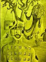 Untitled Drawing by ssiillvverston