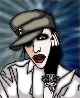 Marilyn Manson Officer Outfit by marilyn--manson