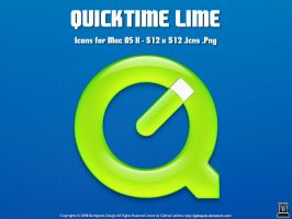 QuickTime Lime by igabapple